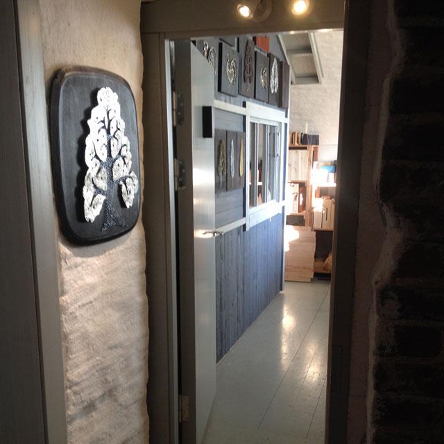 Entrance to Nail Art Studio